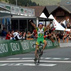 Morgins : étape d'arrivée pour le Tour de Romandie le 28.04