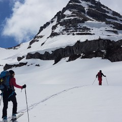 Happy Valley en rando ski