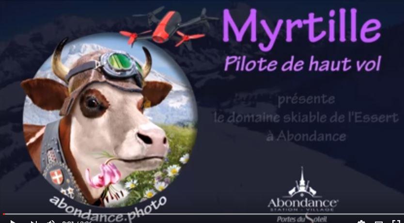 Vache Myrtille