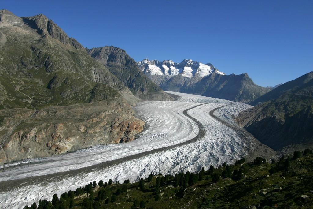 Glacier d'Aletsch © A Bouvet