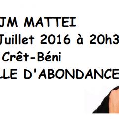Un grand humoristique en spectacle à La Chapelle d'Abondance le samedi 2 juillet!