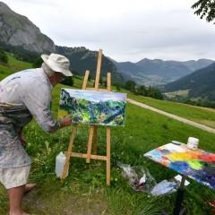 Festival des Peintres à Abondance le 16 et 17 juillet 2016