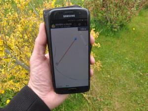 smartphone - GPS