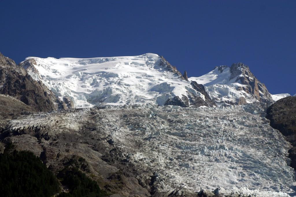 Glacier des Bossons © A. Bouvet