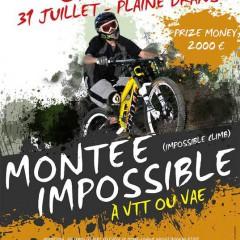 Inscriptions pour la montée impossible à Châtel ce 31.07