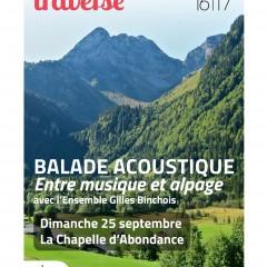 Demain Ballade acoustique à La Chapelle d'Abondance