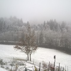 La première neige ce 06/11