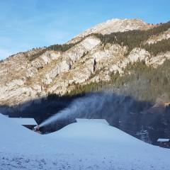 Ouverture partielle du domaine skiable de Châtel Liberté