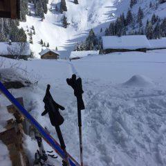 Ski de rando jusqu'à Pertuis