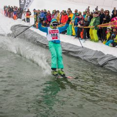Waterslide Contest à Morgins