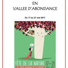 FÊTE DE LA NATURE EN VALLEE D'ABONDANCE