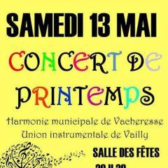 Demain RDV au concert de Printemps à Vacheresse
