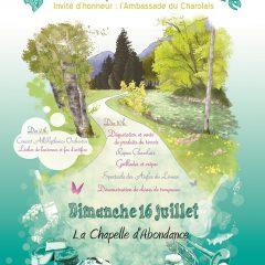 Programme de la 1ère édition de notre balade gourmande au fil de la Dranse