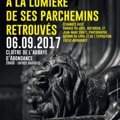 Conférence : Une abbaye à la lumière de ses parchemins retrouvés