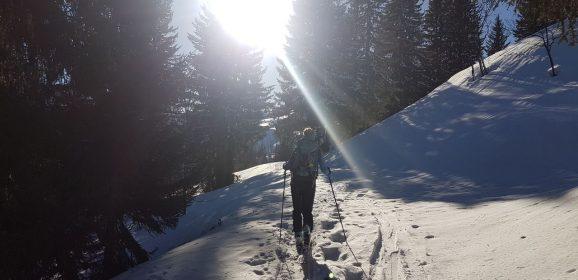 Randonnée ski Covagnes