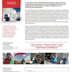 Vol au-dessus de l'Himalaya – Conférence ouverte à tous