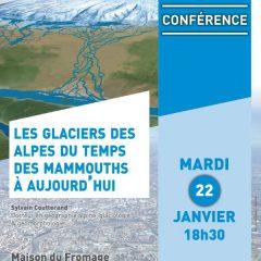 Les Glaciers des Alpes du temps des mammouths à aujourd'hui